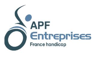 Logo de APF Entreprises France Handicap