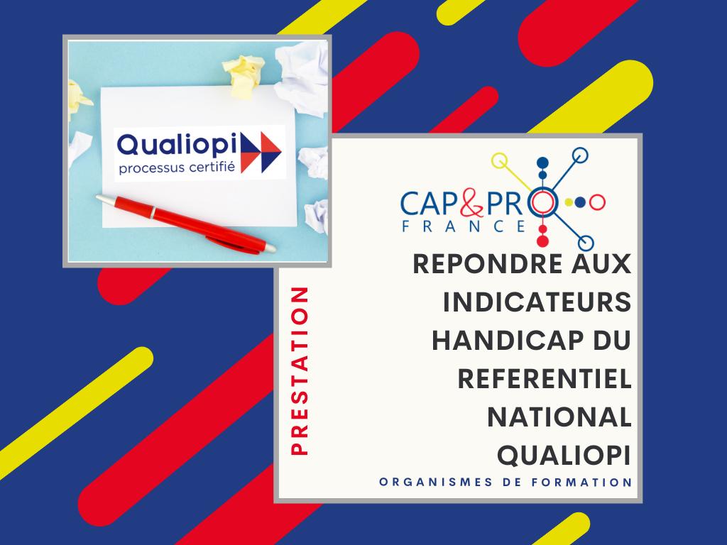 """Illustration de l'offre de service """"Répondre aux indicateurs handicap du référentiel national Qualiopi"""""""